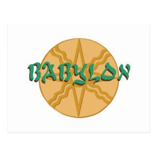Babylon-Stern Postkarte