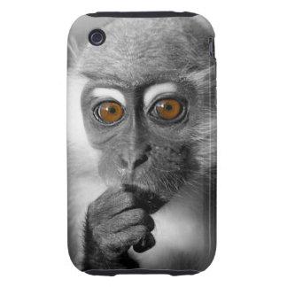 Babymangabey-Affe iPhone 3 Tough Cover