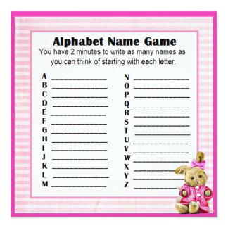 Babyparty-Alphabet-Namen-u. Karte