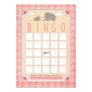 Babyparty-Bingo-Karten Karte