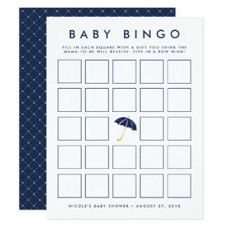 Babyparty-Bingo-Spiel-Karte des Karte