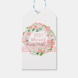 Babyparty-Blumengeschenk-Umbauten Geschenkanhänger