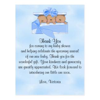 Babyparty danken Ihnen, die es der ethnische Postkarte