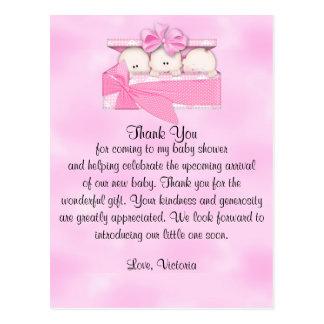 Babyparty danken Ihnen, die es Postkarte