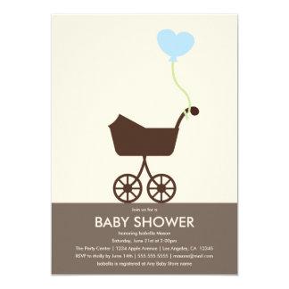 Babyparty des Spaziergänger-| laden ein 12,7 X 17,8 Cm Einladungskarte