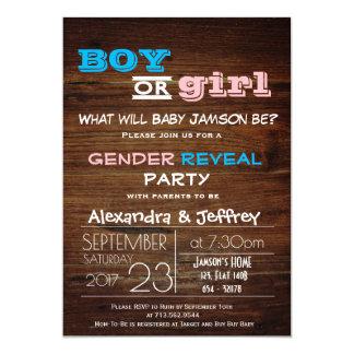 Babyparty-Einladung 12,7 X 17,8 Cm Einladungskarte