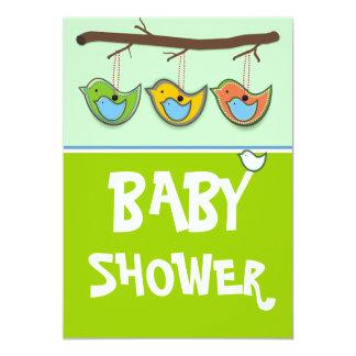 Babyparty Einladung-Blau 12,7 X 17,8 Cm Einladungskarte