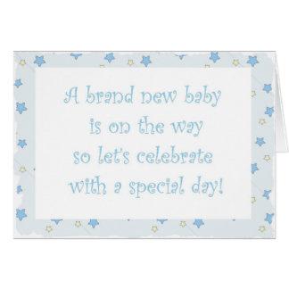 Babyparty-Einladung Karte