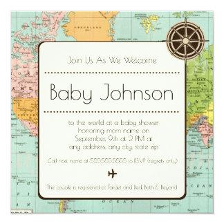 Babyparty-Einladung - Karten-Thema Karte