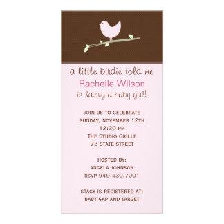 Babyparty-Einladung Photo Grußkarte