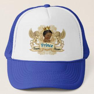 Babyparty-Hut Team-afrikanischer Prinz-Royal Truckerkappe