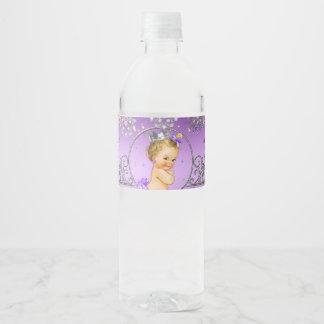 Babyparty-Wasser-Flaschen-Aufkleber, königliche Wasserflaschenetikett