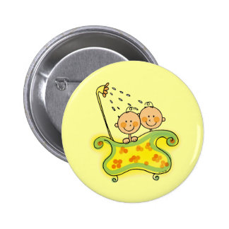 Babyparty (Zwillinge) Button