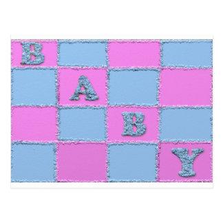 Babypartyeinladung Postkarten