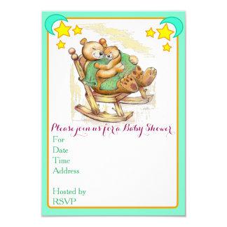 Babypartyeinladungen 8,9 X 12,7 Cm Einladungskarte