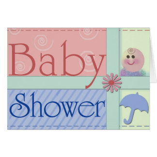 Babypartyeinladungskarten Karte