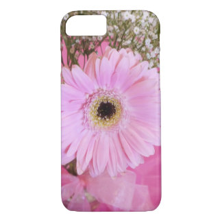 Babyrosagänseblümchen mit Blumen iPhone 8/7 Hülle