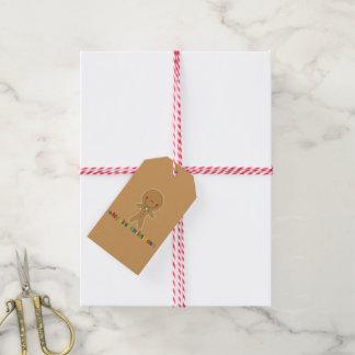 Babys erster Weihnachtslebkuchen-Junge Geschenkanhänger