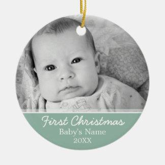 Babys erstes Weihnachten Keramik Ornament