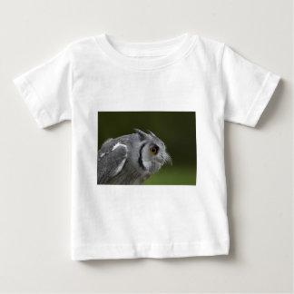 Babys T - Shirt - Baby-Grau-Eule