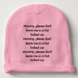 Babysicherheits-Erinnerungshut Babymütze