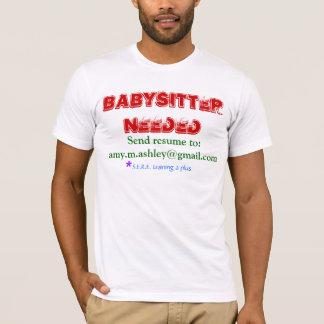 Babysitter benötigt T-Shirt