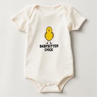 Babysitter-Küken Baby Strampler