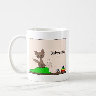 Babysitter - Pepper die Katze (treffen Sie Mews) Kaffeetasse