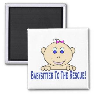Babysitter zur Rettung Quadratischer Magnet