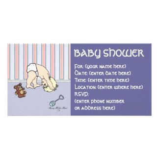 Babysomersault-Babyparty Bilder Karten