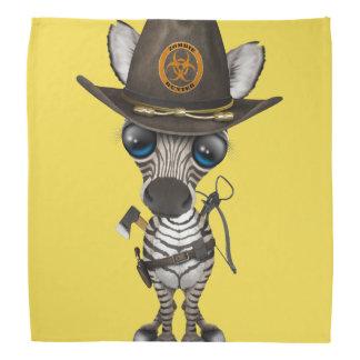 Babyzebra-Zombie-Jäger Kopftuch