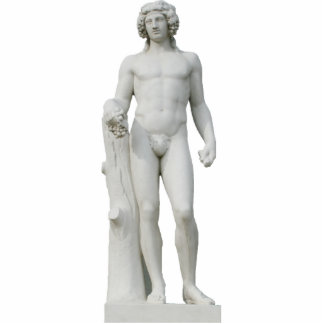 Bacchus Keychain Fotoskulptur Schlüsselanhänger