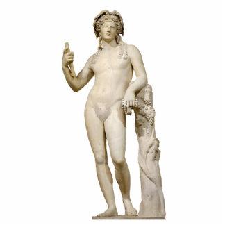 Bacchus-und Weinrebe-Skulptur Freistehende Fotoskulptur