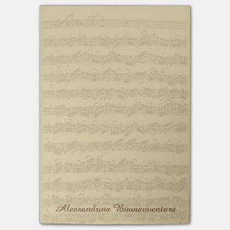 Bach 2. post-it klebezettel