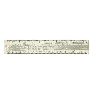 Bach Partita Musik-Manuskript Lineal