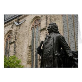 Bach Statue Karte