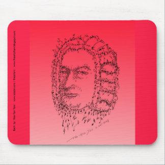 Bach: Stellen Sie die Musik gegenüber Mauspads