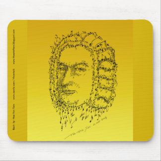 Bach: Stellen Sie die Musik gegenüber Mousepad