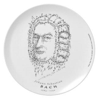 Bach: Stellen Sie die Musik gegenüber Teller