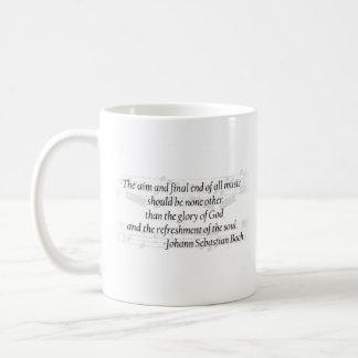 Bach Zitat-Tasse Kaffeetasse