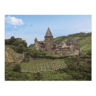 Bacharach, Deutschland, Stahleck Schloss, Schloss Postkarte