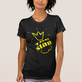 Bachelore Party der Hirsch Yello T-Shirt