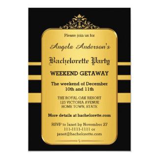Bachelorette 12,7 X 17,8 Cm Einladungskarte