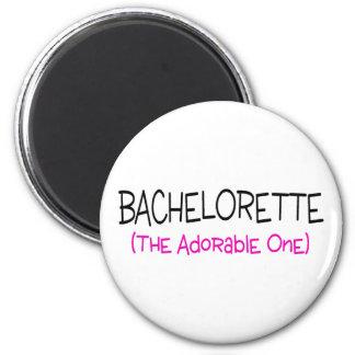 Bachelorette das entzückende runder magnet 5,7 cm