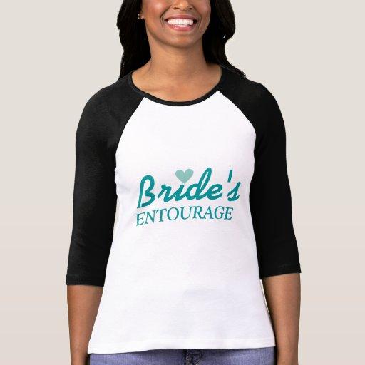 Bachelorette der Entourage der Braut Shirt