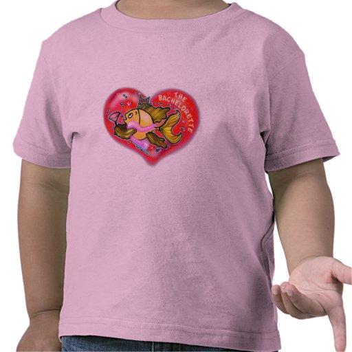 Bachelorette Henne-Party-Fische Tshirts