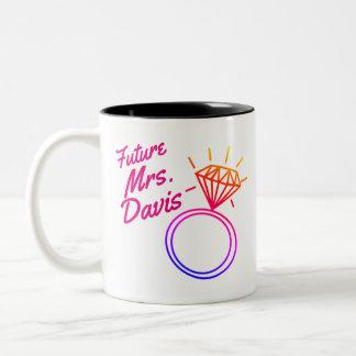 Bachelorette Schale Zweifarbige Tasse