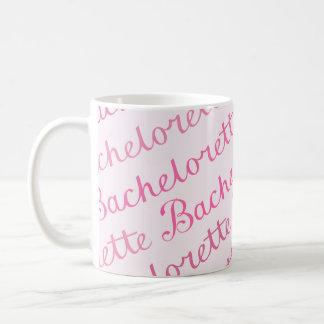 Bachelorette Skript-diagonale Kaffeetasse