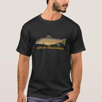Bachforelle-deutsche Technik T-Shirt