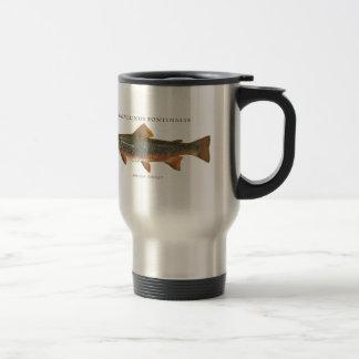 Bachforelle-Fischen Reisebecher